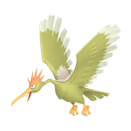 Fearow Shiny sprite from Home