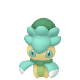 Fomantis Shiny sprite from Home