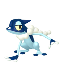 Frogadier Shiny sprite from Home