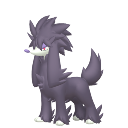 Furfrou Shiny sprite from Home