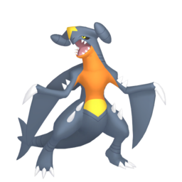 Garchomp Shiny sprite from Home