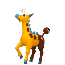 Girafarig Shiny sprite from Home