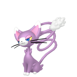 Glameow Shiny sprite from Home