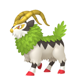 Gogoat Shiny sprite from Home