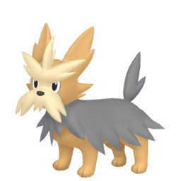 Herdier Shiny sprite from Home