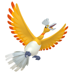 Ho-oh Shiny sprite from Home