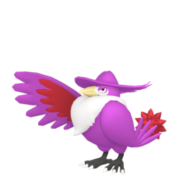 Honchkrow Shiny sprite from Home