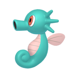 Horsea Shiny sprite from Home