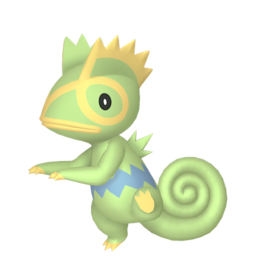 Kecleon Shiny sprite from Home