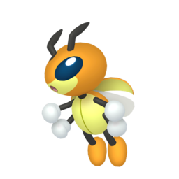 Ledian Shiny sprite from Home