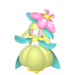 Lilligant Shiny sprite from Home