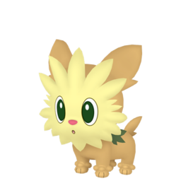 Lillipup Shiny sprite from Home