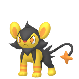 Luxio Shiny sprite from Home
