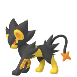 Luxray Shiny sprite from Home