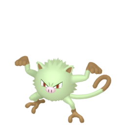 Mankey Shiny sprite from Home