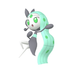 Meloetta Shiny sprite from Home