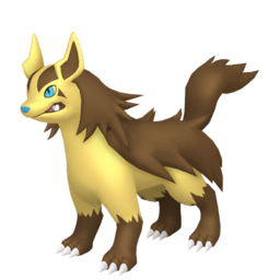 Mightyena Shiny sprite from Home