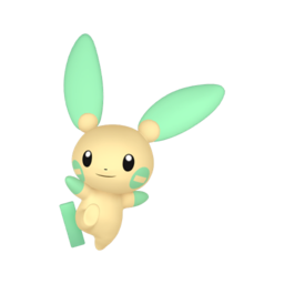 Minun Shiny sprite from Home