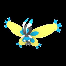 Mothim Shiny sprite from Home