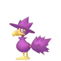 Murkrow Shiny sprite from Home