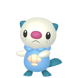 Oshawott Shiny sprite from Home