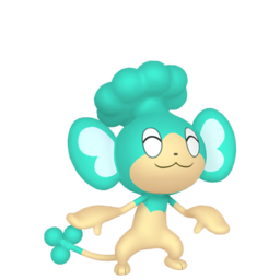 Panpour Shiny sprite from Home