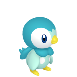 Piplup Shiny sprite from Home