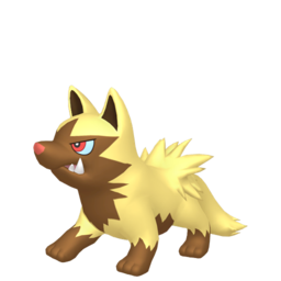 Poochyena Shiny sprite from Home