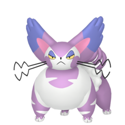 Purugly Shiny sprite from Home