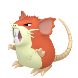 Raticate Shiny sprite from Home