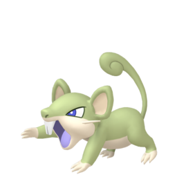 Rattata Shiny sprite from Home