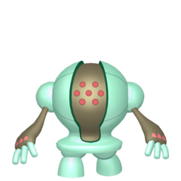 Registeel Shiny sprite from Home