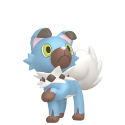 Rockruff Shiny sprite from Home