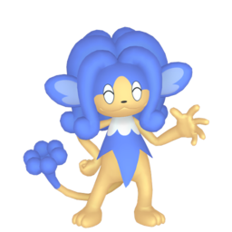 Simipour Shiny sprite from Home