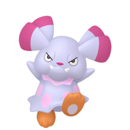 Snubbull Shiny sprite from Home