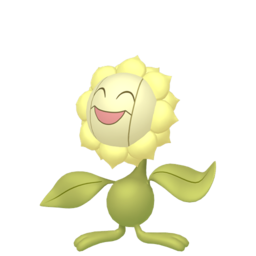 Sunflora Shiny sprite from Home