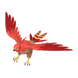 Talonflame Shiny sprite from Home