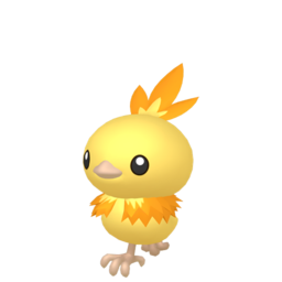 Torchic Shiny sprite from Home