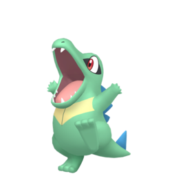 Totodile Shiny sprite from Home