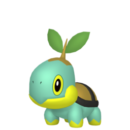 Turtwig Shiny sprite from Home