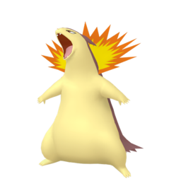 Typhlosion Shiny sprite from Home