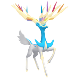 Xerneas Shiny sprite from Home