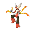 Blaziken  sprite from Omega Ruby & Alpha Sapphire