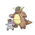 Kangaskhan  sprite from Omega Ruby & Alpha Sapphire