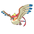Pidgeot  sprite from Omega Ruby & Alpha Sapphire