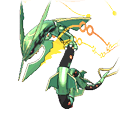Rayquaza  sprite from Omega Ruby & Alpha Sapphire
