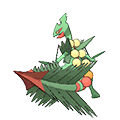 Sceptile  sprite from Omega Ruby & Alpha Sapphire