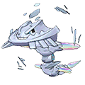 Steelix  sprite from Omega Ruby & Alpha Sapphire