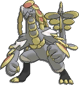 Kommo-o  sprite from Sun & Moon
