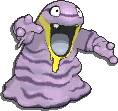 Grimer Shiny sprite from Sun & Moon